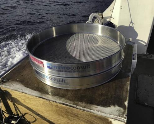 Elementi di raccolta in barca