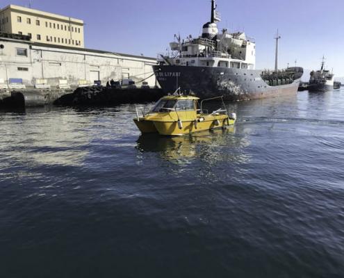 Barca per le rilevazioni Enviroconsult